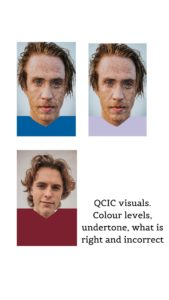 QCIC colour analysis visuals